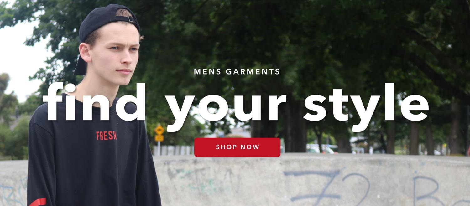 Mens garments - find your style