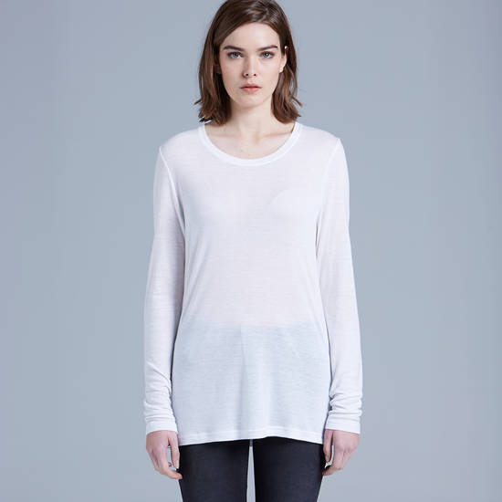 4026 FINE LONG SLEEVE TEE