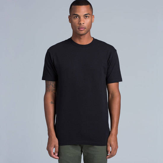 MENS BLOCK TEE (3XL-5XL) - 5050B