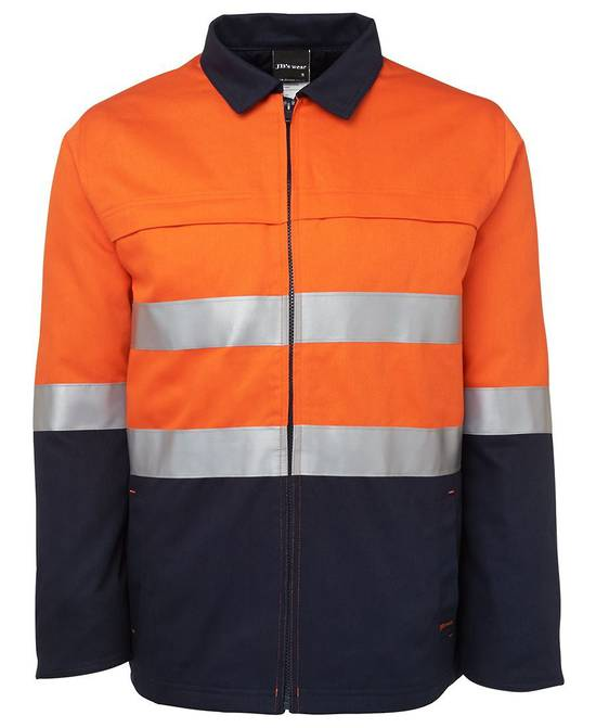 6HD4J Hi Vis (D+N) Cotton Jacket