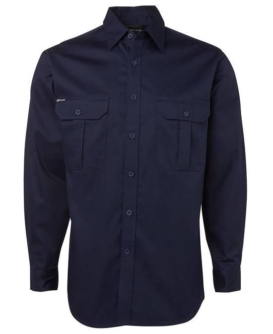 6WLS L/S 190G Work Shirt