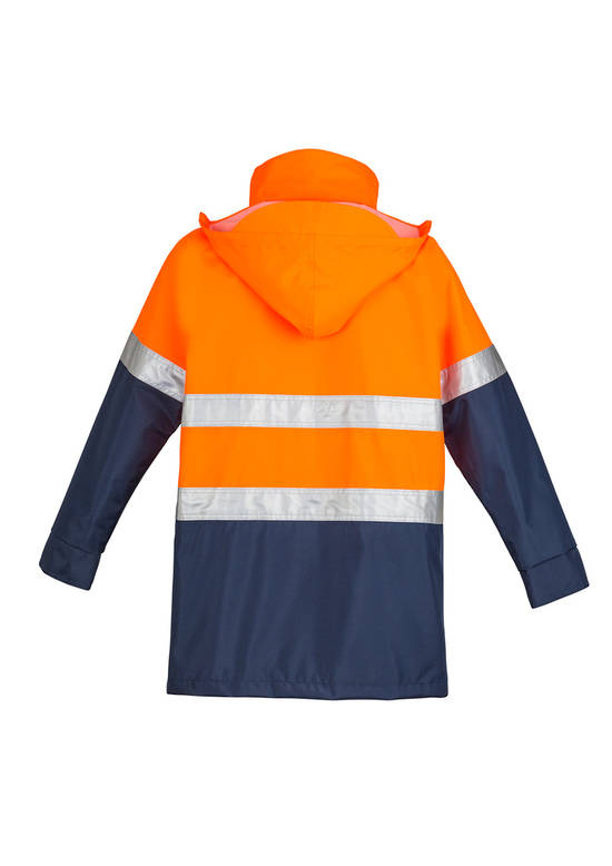 ZJ355 Mens Hi Vis Waterproof Lightweight Jacket