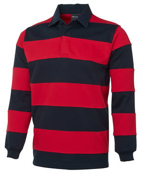 3SR Mens Striped Rugby Jersey