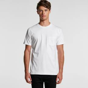 MENS CLASSIC POCKET TEE - 5027