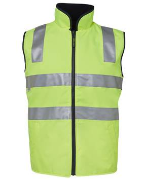 6D4RV Hi Vis (D+N) Reversible Vest