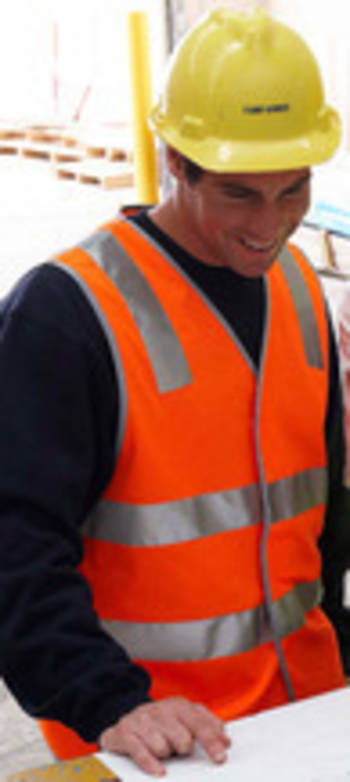 Hi Vis Day and Night Safety Vest with Printing