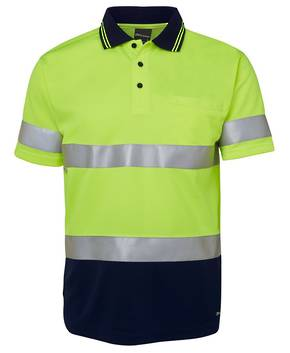 6HVST   Hi Vis S/S (D+N) Traditional Polo