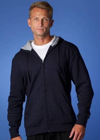 KOZI MENS ZIP THRU HOODIES