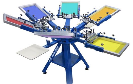 Screen printing for On site t shirt printing