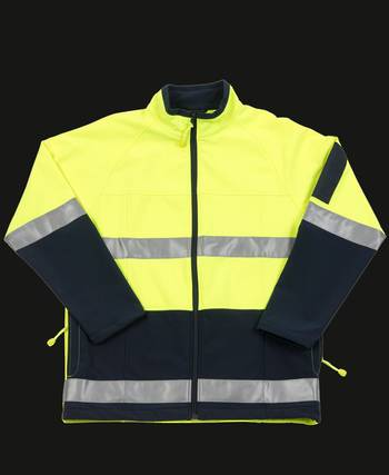 Hi Vis Day and Night Layer Jacket with Printing