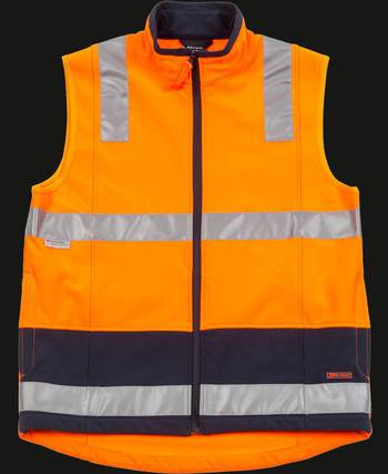 Hi Vis Day and Night Layer Vest with Printing
